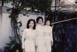 First Vietnamese members @ their baptism
