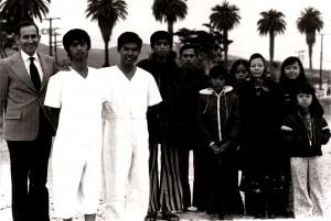 Minh Miner baptizing investigator 1